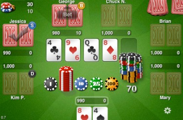poker app against computer